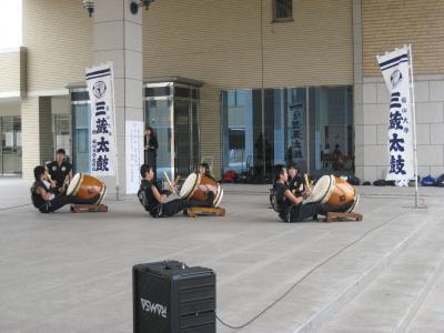 2009 天皇杯 壮行式(三蔵太鼓)