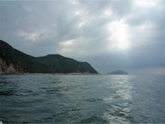 芥屋の大門遊覧船 姫島
