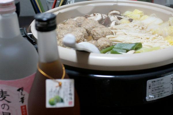 鶏団子鍋~17