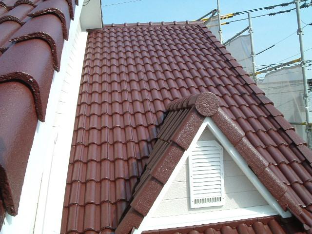 屋根塗替工事