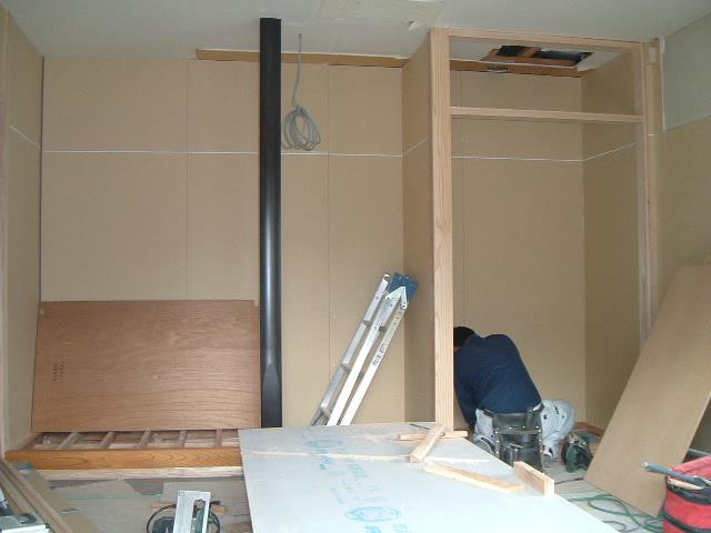 床の間と押入れ造作