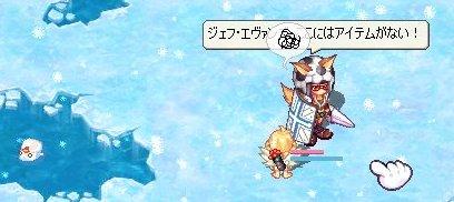 雪の降る土地で・・・