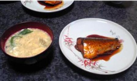 鯖の味噌煮・超酒仕立て