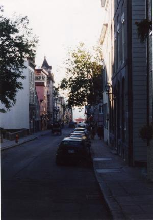 P.E.I.・街角