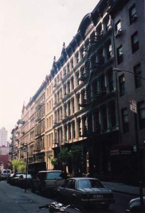 NY・街角