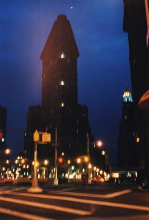 NY 青い街