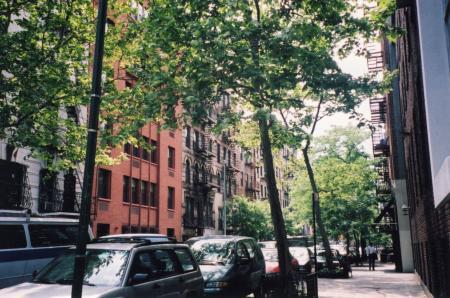 NY 街角