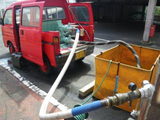 連結送水管試験