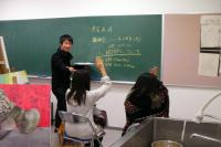 女学生×セミナー講師
