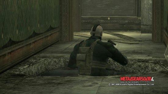MGS4 - ジョナサン(落とし穴)
