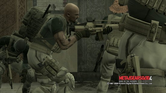 MGS4 - チーム行動