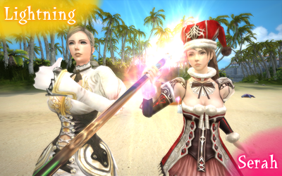 Granado Espada - Lightning&Serah