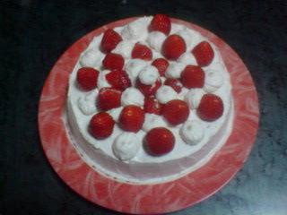 スポンジケーキ バースデイケーキ