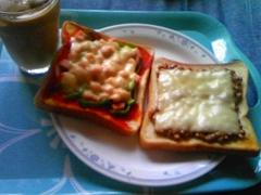 トースト2種