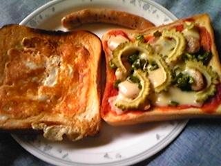 いい加減トースト2種