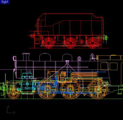8620と炭水車