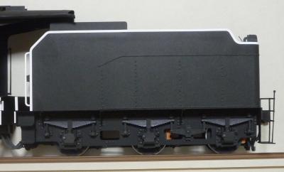 ペーパー8630号機 炭水車