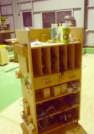 大山さん 工房 道具箱