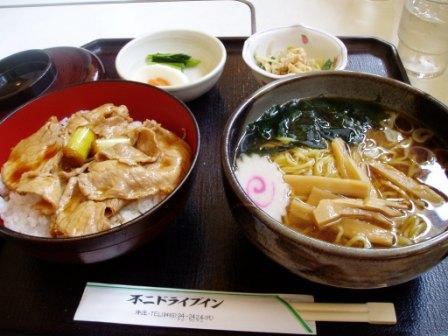 てりやき丼とラーメン (4)