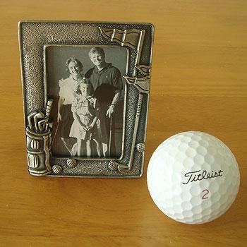 ゴルフ!写真たて