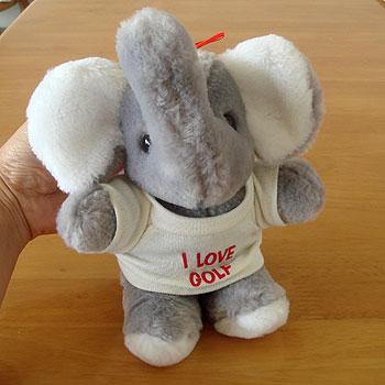 I LOVE GOLF!象さん