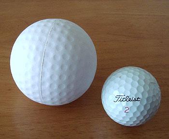ゴルフストレスボール