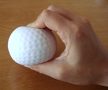 ゴルフ!ストレスボール
