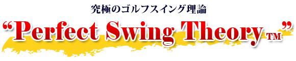 """究極のゴルフスイング理論""""Perfect Swing Theory"""""""