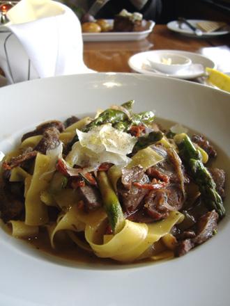 パッパルデッレ&ラム肉のソース