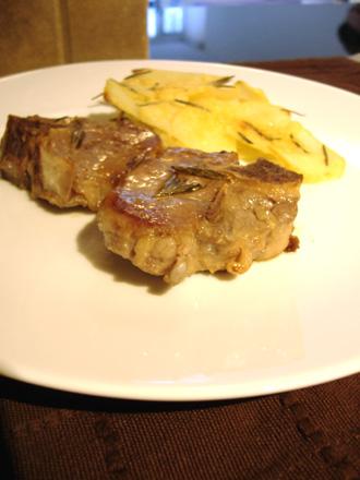 ラム肉&ポテト
