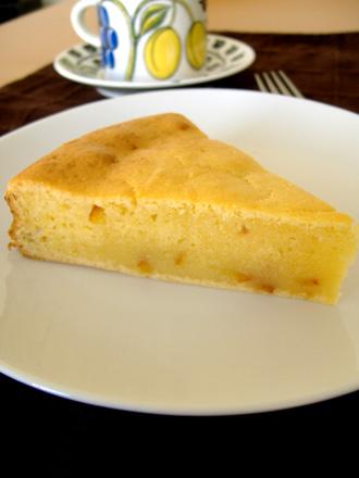 マーマレード入りヨーグルトケーキ