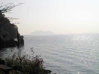 海津 竹生島