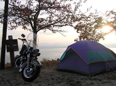 海津キャンプ