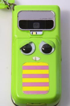 ガチャピン携帯