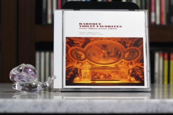 baroque violin favorites