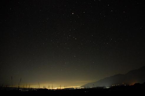 オリオン流星初日の空 045