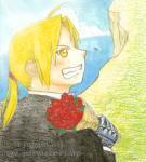 一つの終焉に赤い花束を・イラスト版