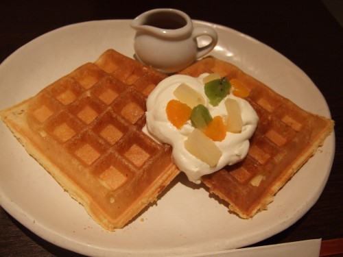 CAFE SALON SONJIN - ワッフル
