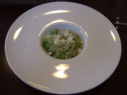 ビストロ・ノーブル - ゴーヤと枝豆のリゾット.jpg