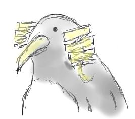 縦ロールペンギン