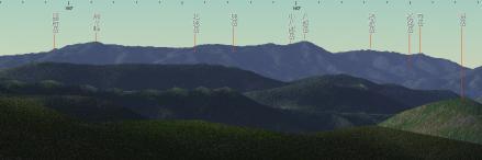 081006あぐりの丘から八郎山