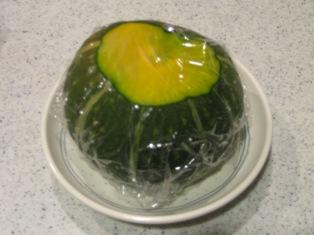 はちみつかぼちゃの茶巾絞り-1