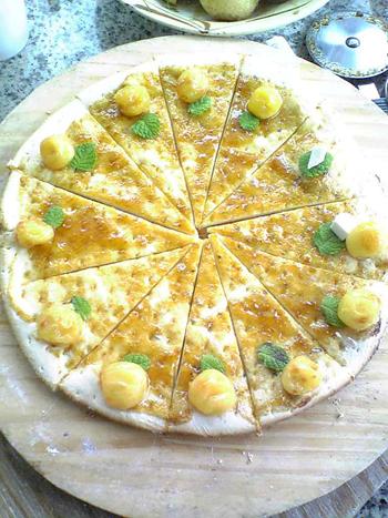 デザートピザ