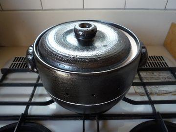 やき芋焼き鍋