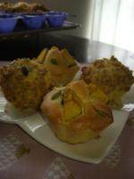 レモンカードマフィンと焼き南瓜のマフィン