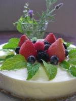 berryのレアチーズケーキ
