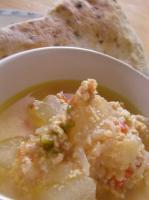 冬瓜の生姜スープ