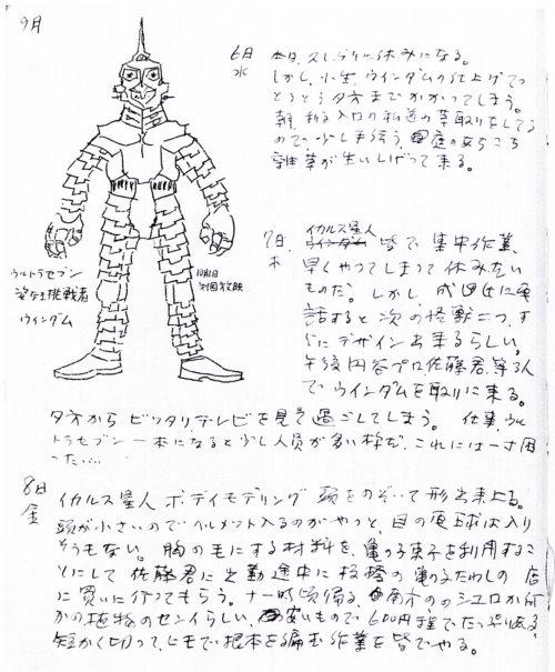 怪獣製作日記01