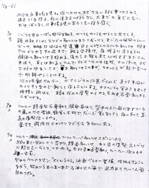 怪獣製作日記02