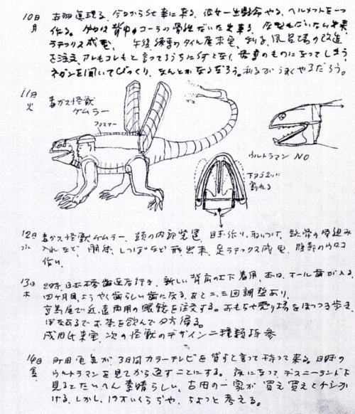 怪獣製作日記03